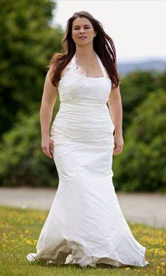 Coiffure mariage pour femme ronde