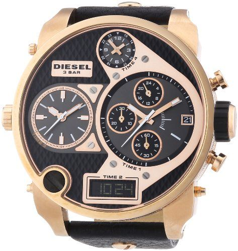 diesel dz7261 montre homme quartz chronographe chronom tre aiguilles lumineuses. Black Bedroom Furniture Sets. Home Design Ideas