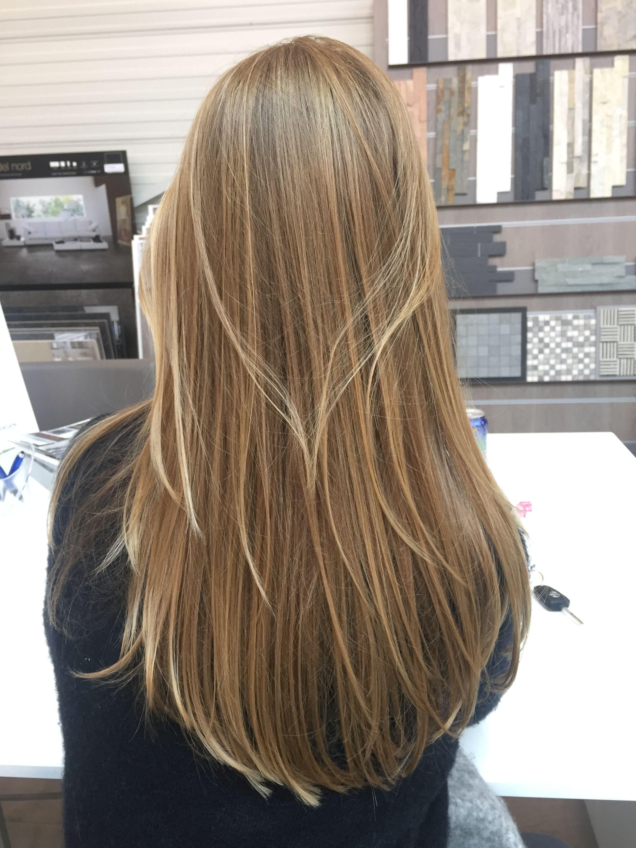 highlights #blonde #hair #brunette #pretty #cute #hairstyle