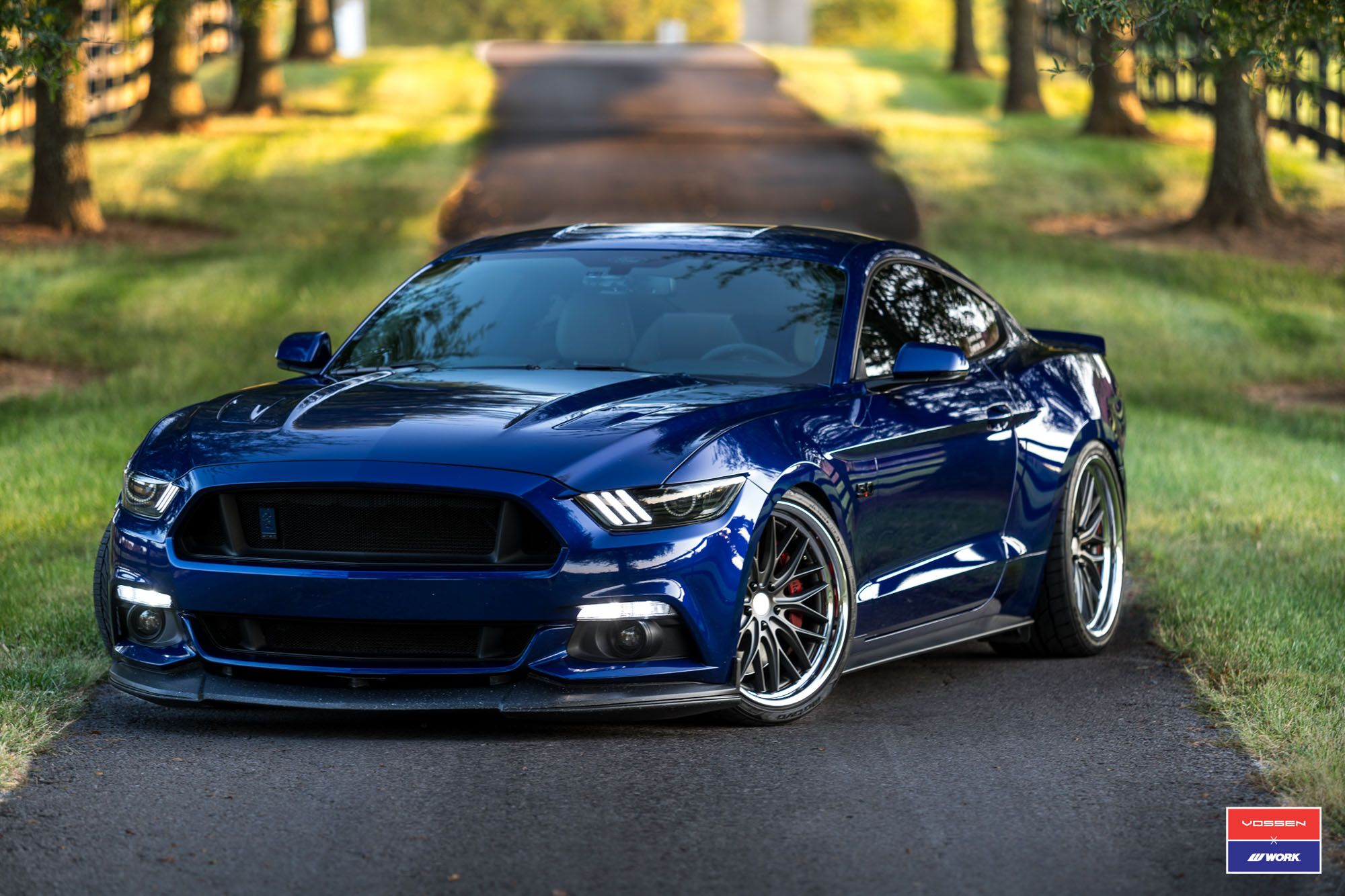 Ford Mustang Vossen X Work Series Vws 2 Ford Mustang Car