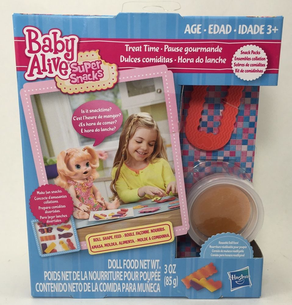 Baby Alive Super Snacks Food For Sara Doll Treat Time Red Cookie Cutter Set 21 Baby Alive Super Snacks Blue Cookies