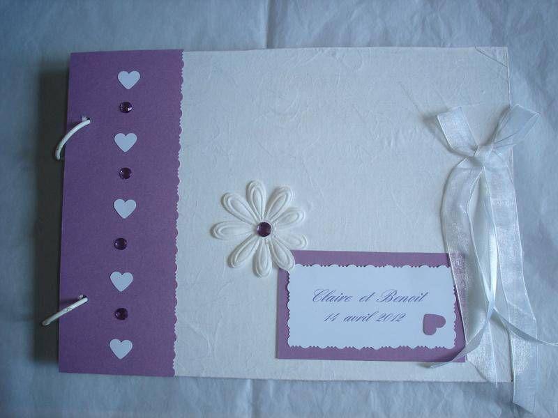 livre d 39 or mariage violet albums photos la boutique de mijet fait maison oui. Black Bedroom Furniture Sets. Home Design Ideas