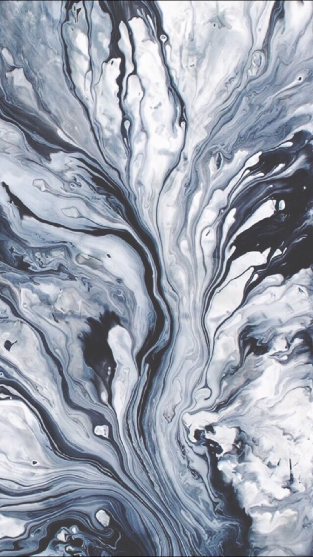 This Paint Spilled Is So Aesthetic Perfect For A Relaxing Background Aesthetic White Black And Blue Spill Tumblr Iphone Wallpaper Abstract Tumblr Wallpaper