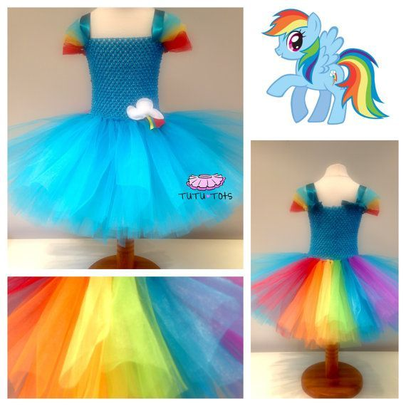 8dd5c0199a 88 of the Best DIY No-Sew Tutu Costumes - DIY for Life My Little Pony