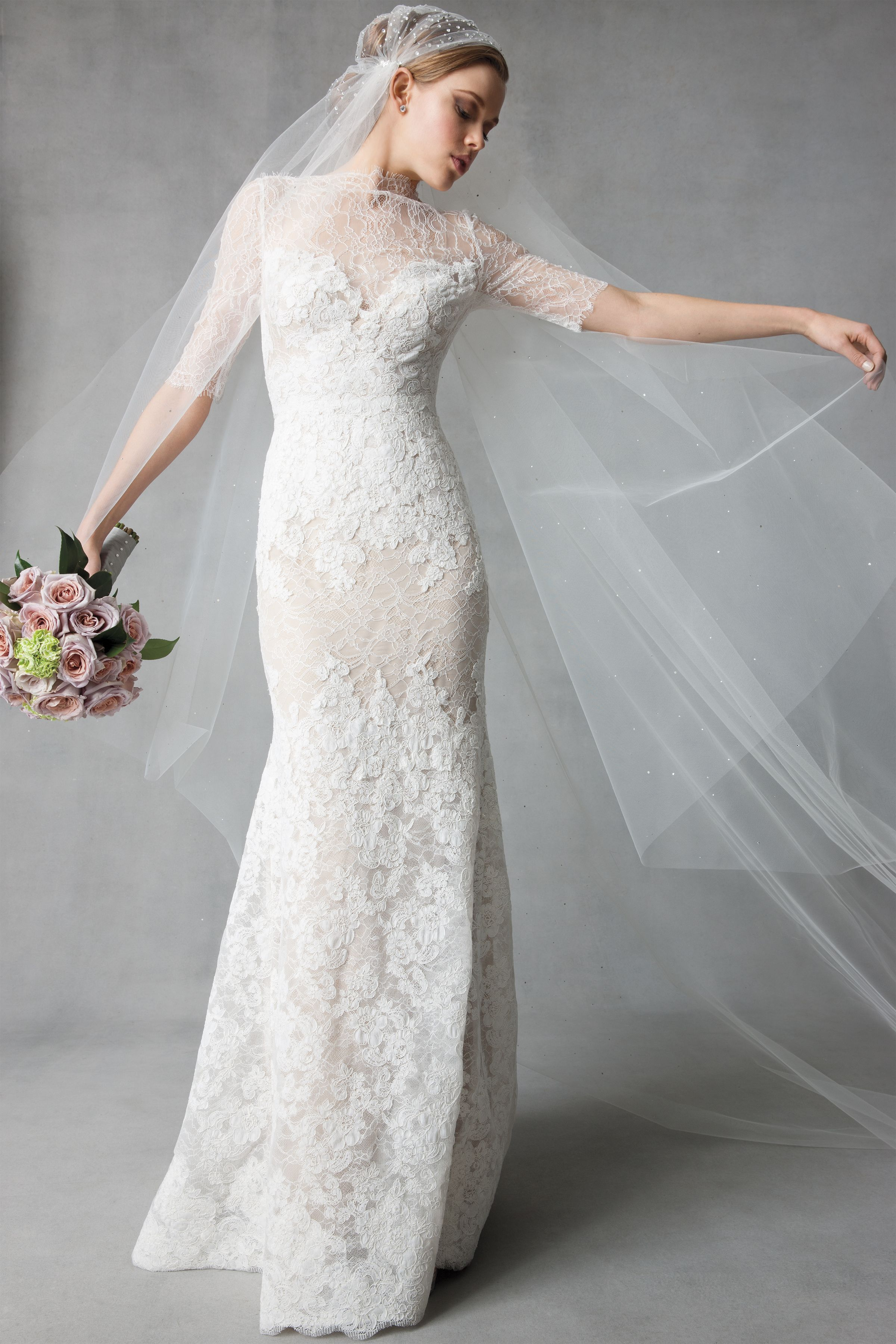 Watters Kerry Wedding Gown | Design | Pinterest | Veil, Gowns and ...