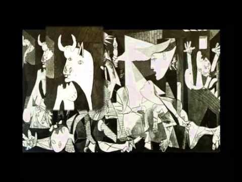 Une Description Rapide Du Tableau De Picasso Le Contexte Historique Les Elements Presents Dans Les Tableaux Les C Tableau Picasso Tableau Guernica Peinture