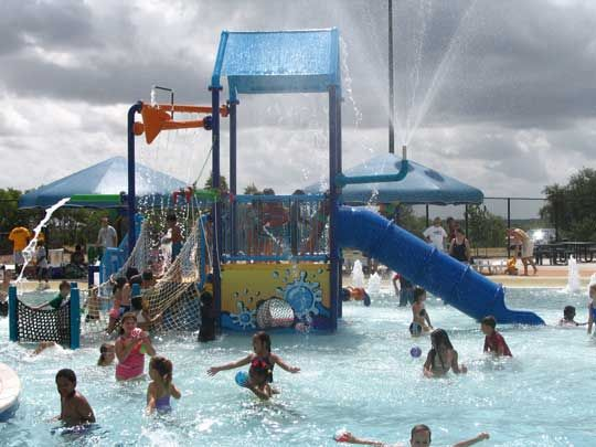 Round Rock Rock N River Water Park Community Pool Austin Activities Free Fun