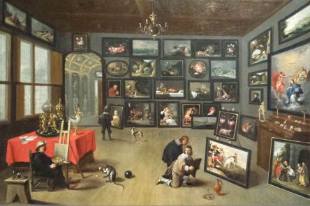 Interior Of A Nobleman S Gallery By David Teniers Ii And