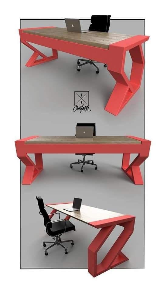 Pin de besmar en tables and chairs en 2019 muebles for Muebles industriales metal baratos