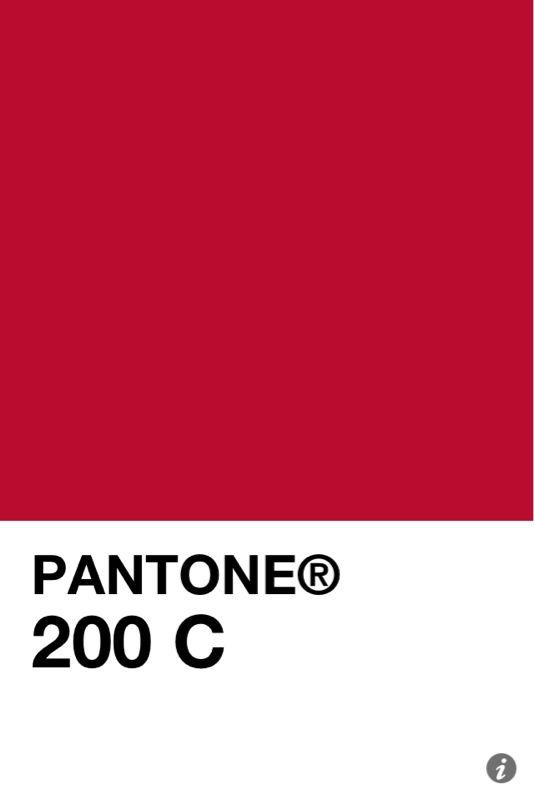 Pantone 200 C ค้นหาด้วย Google Pantone Color Colour