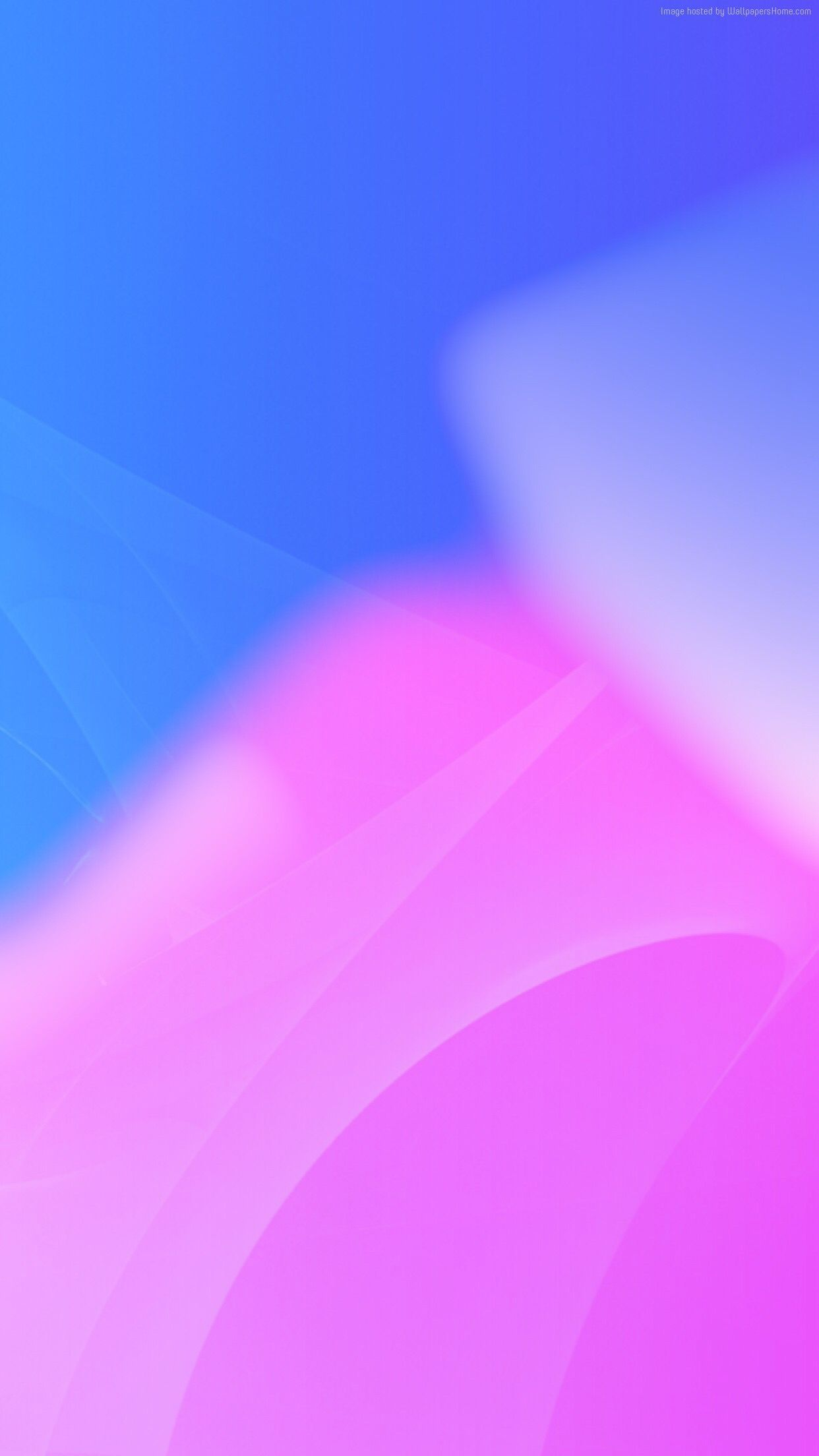 iOS 11, pink, blue, abstract, apple, wallpaper, iPhone x