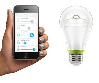 GE Led app light bulb.
