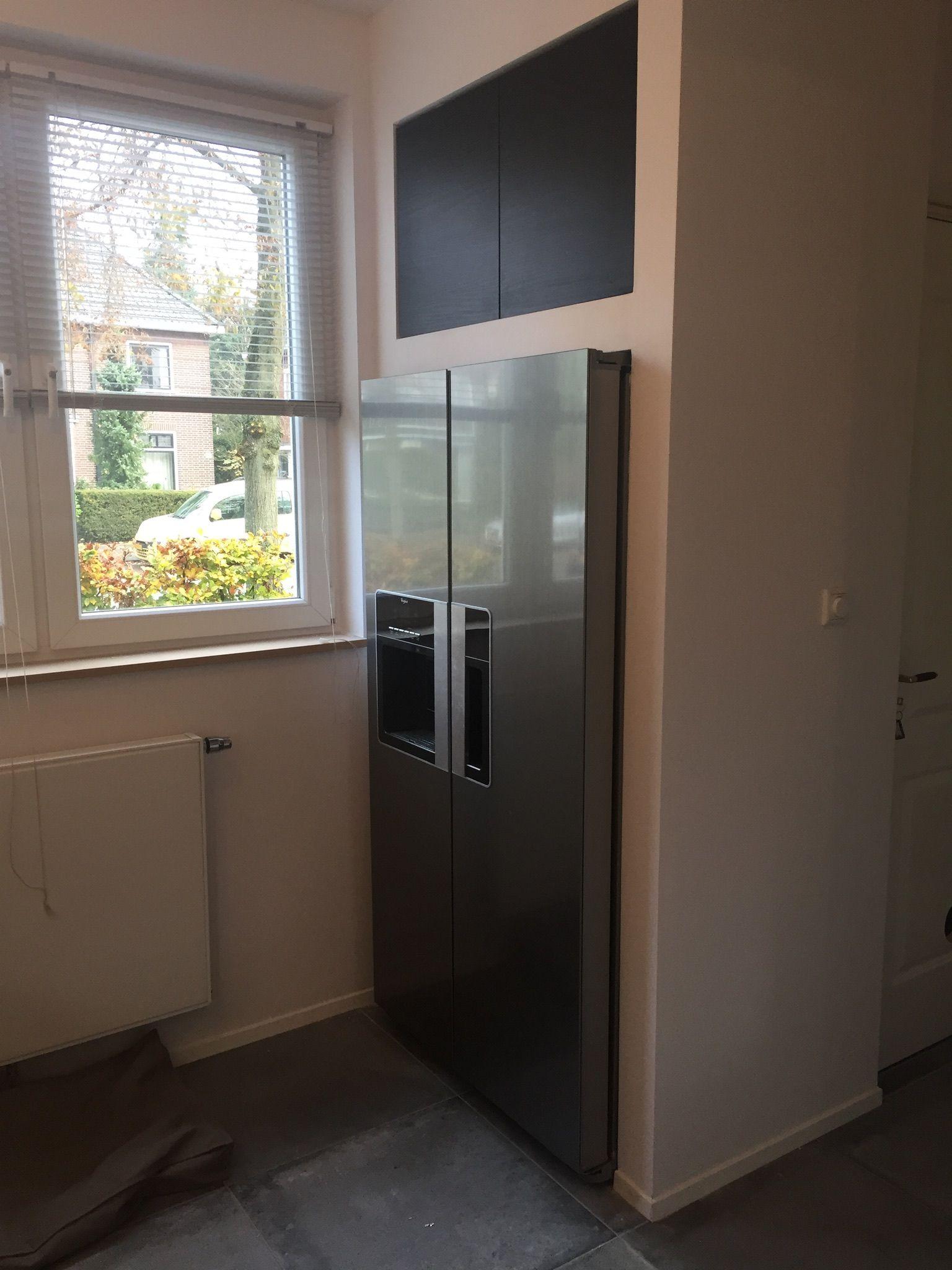 Extreem Ombouw Amerikaanse koelkast | keuken - Kitchen, Home deco en Deco WV13