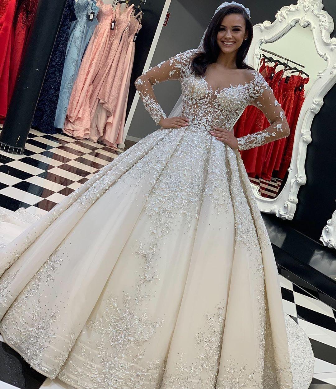 armel #brautkleider #Hochzeitskleid Spitze Ärmel #hochzeitskleider