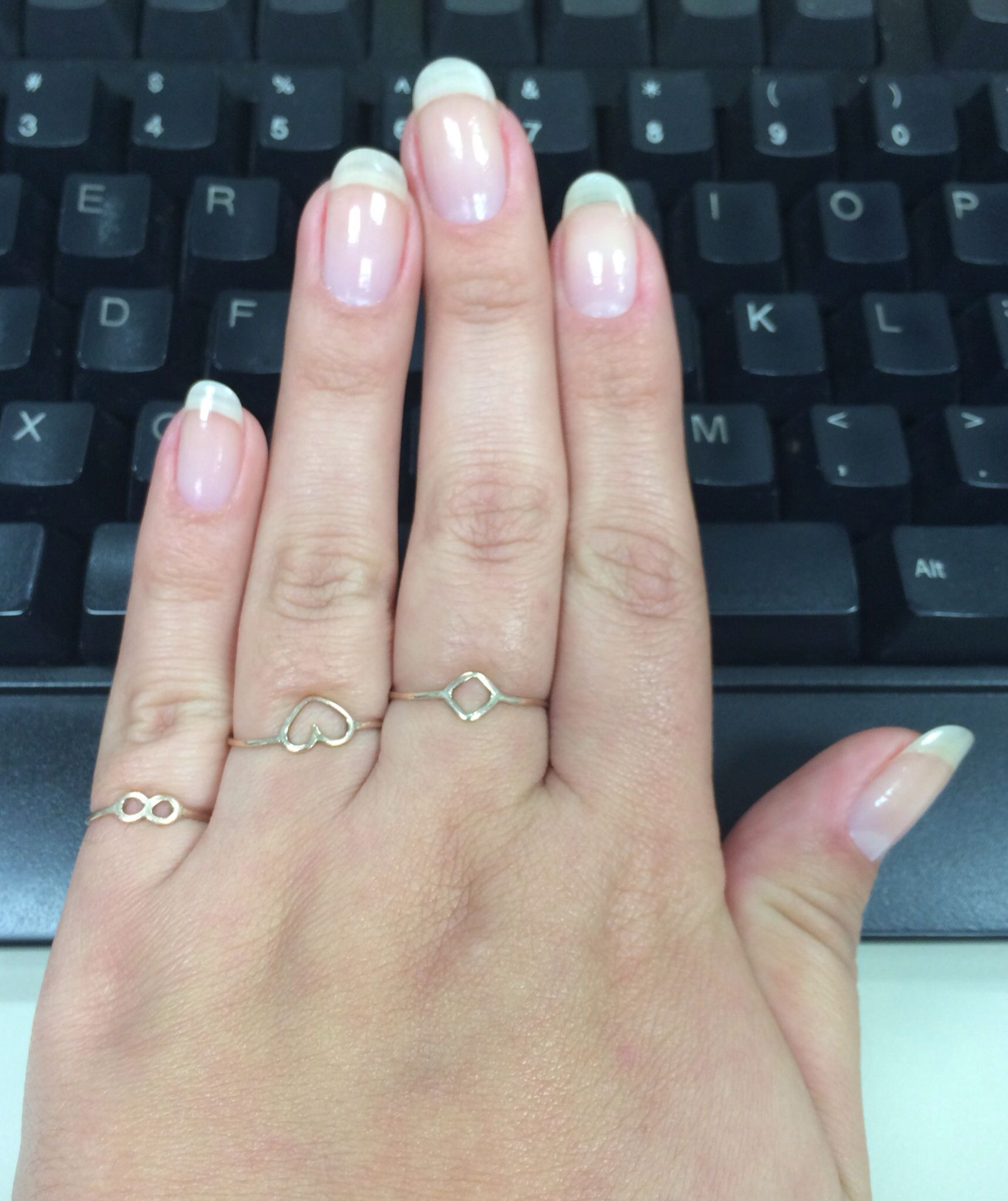 Natural Nails / oval nails | Pin\'s by Anacary™ | Pinterest | Oval ...
