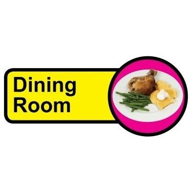 Dining Room Sign Dementia Friendly