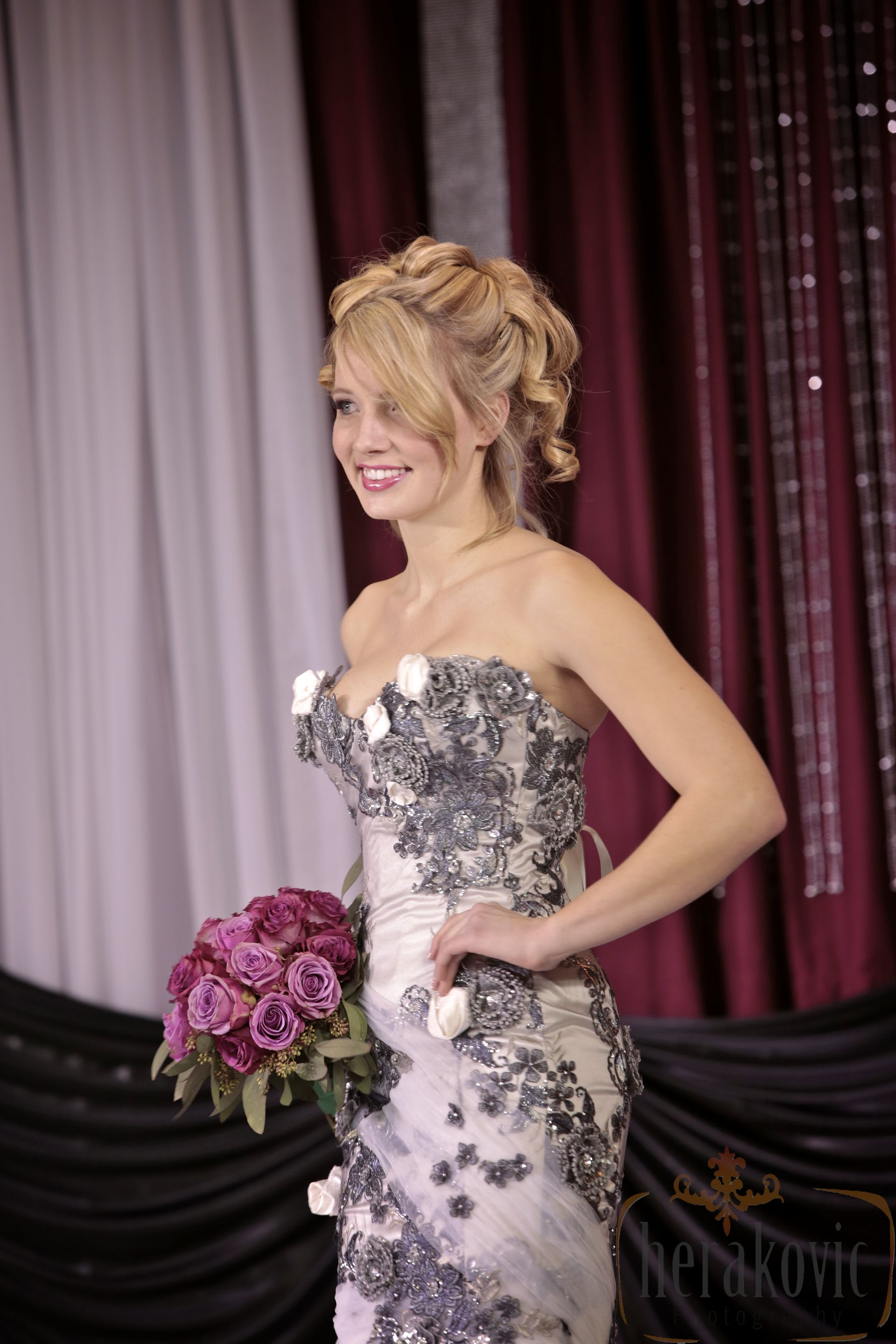Bridal Fashion Show  Flowers by: Living Fresh http://livingfresh.ca  Photography by: Herakovic Photography http://www.hrkvc.com
