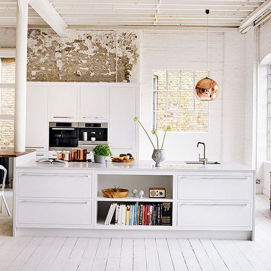 Ideas for White Kitchens | Ideas for Home Garden Bedroom Kitchen - HomeIdeasMag.com