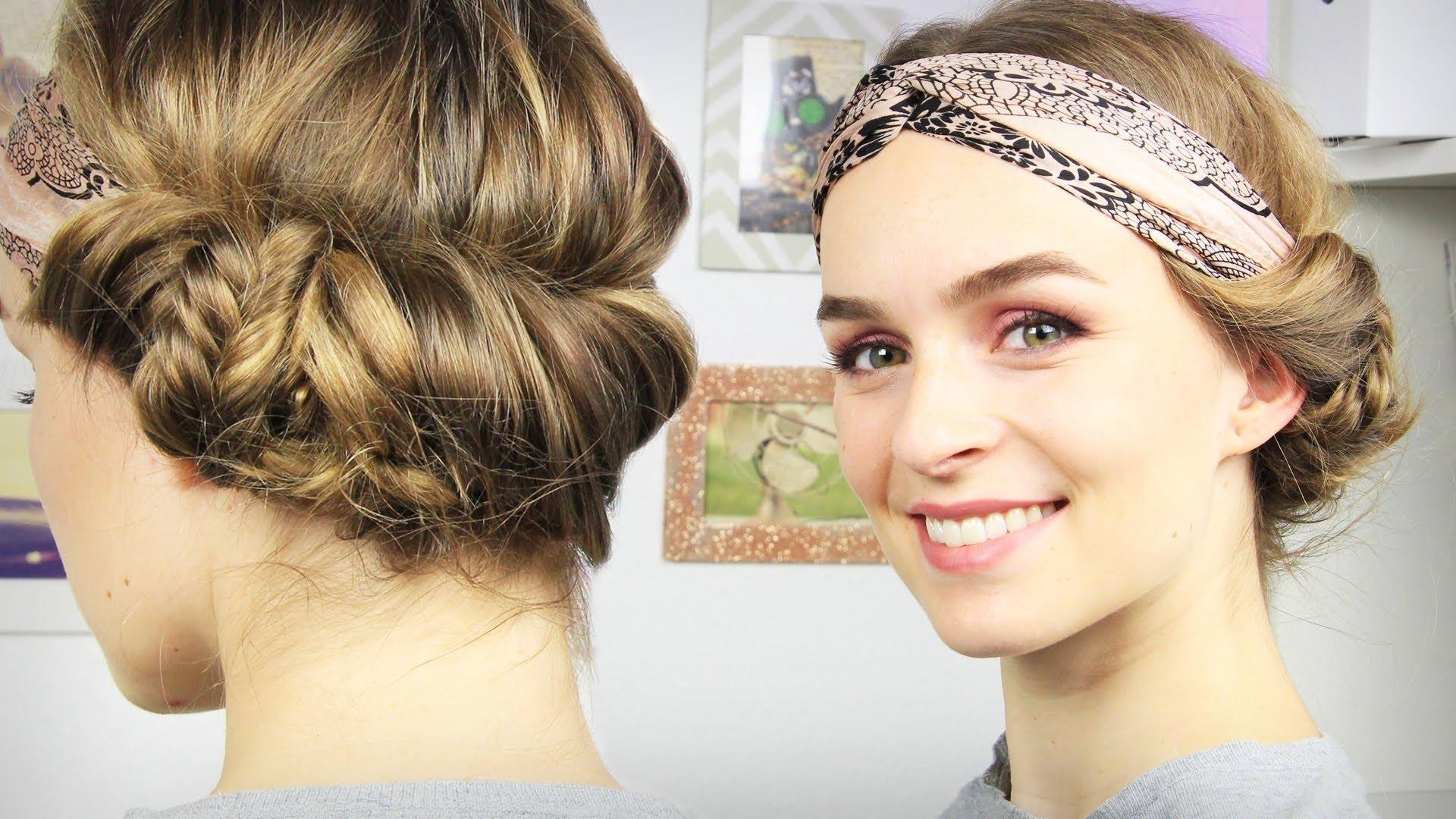 Haarband Richtig Tragen Kurze Haare Modische Frisuren 2018