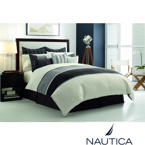 Nautica Oyster Point Twin Extra Long Duvet Cover Amp Shams