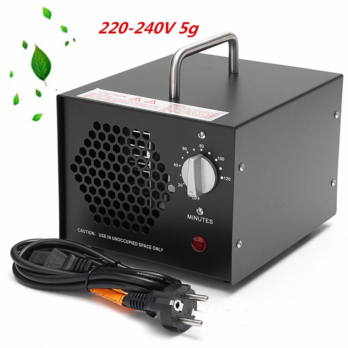 Nuevo 220V240V 5000mg Generador de ozono industrial