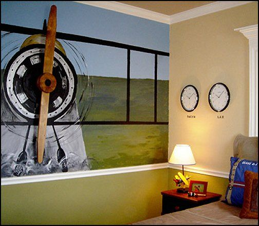 Decorating Theme Bedrooms Maries Manor Airplane Bedroom Aviation Themed Ideas