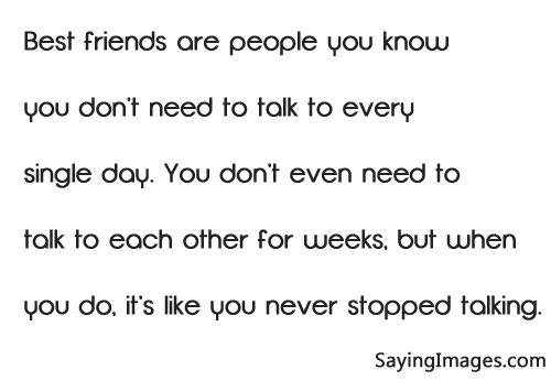 cute quotes to tell your best friend