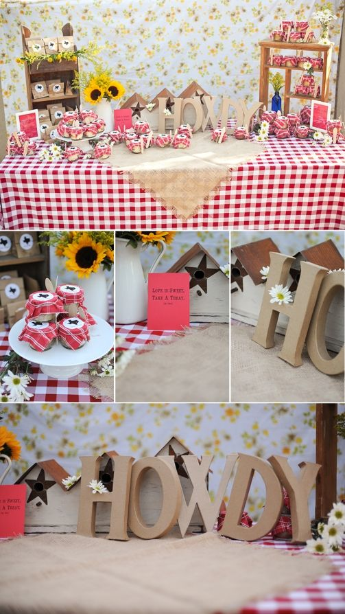 texas themed bridal party shower marcella treybig photography blog