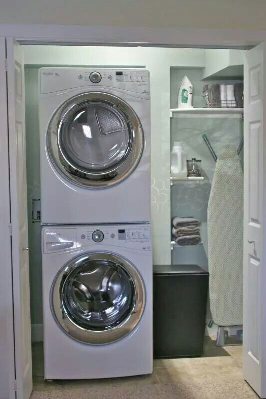 My Kind Of Laundry Room Small Efficient And Organized