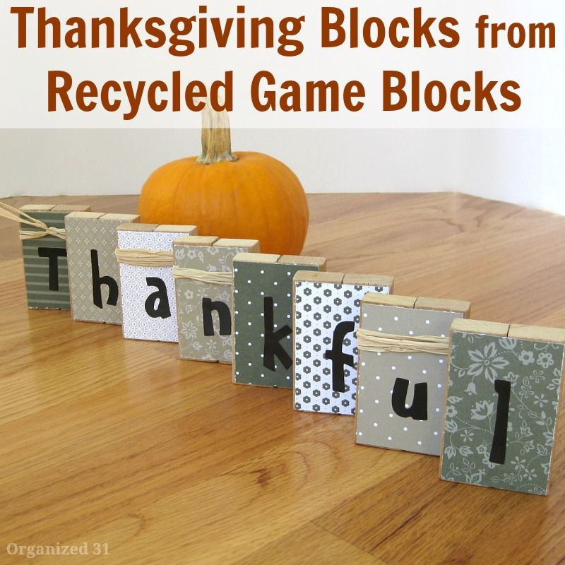Most Best Thanksgiving Decoration Do it Yourself Project 6