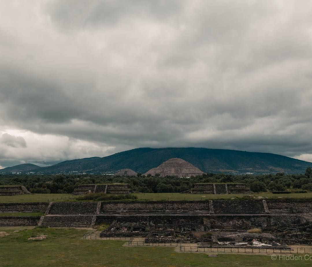 View From Quetzalcoatl S Pyramid In Teotihuacan An Archaeological Site Near Mexico City Dating Back To 200 B C Teotihuacan Mexico Travel Archaeological Site