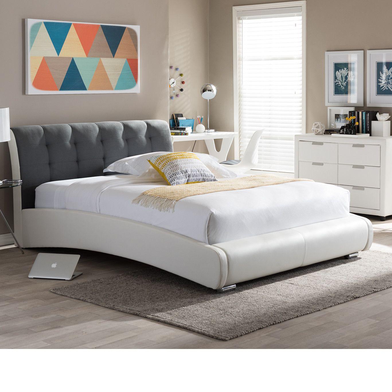 Maxon Upholstered Platform Bed