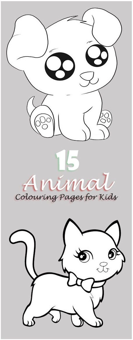 15 Best Printable Animal Colouring Pages for Kids (With ...