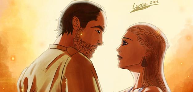 Jorah e Daenerys