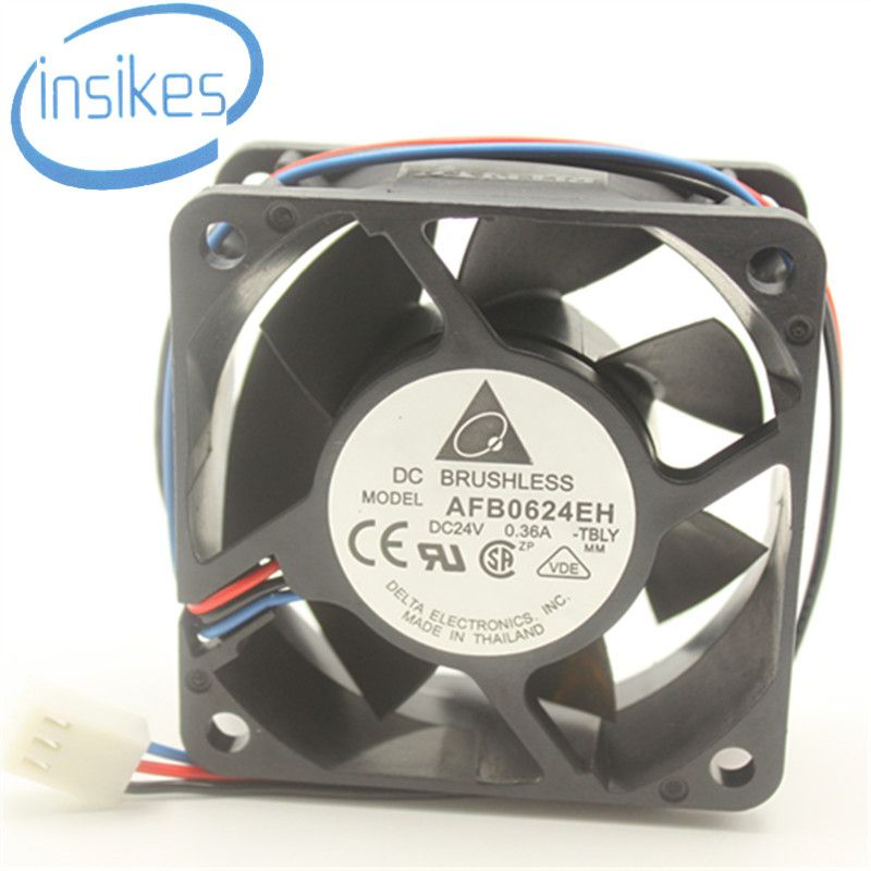 >> Click to Buy << Original Brushless Double Ball AFB0624EH Computer Blower Cooling Fan 6800RPM DC 24V 0.36A 6025 60*60*25mm  #Affiliate