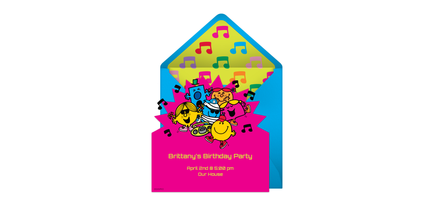 Free Mr. Men & Little Miss | Group and Free