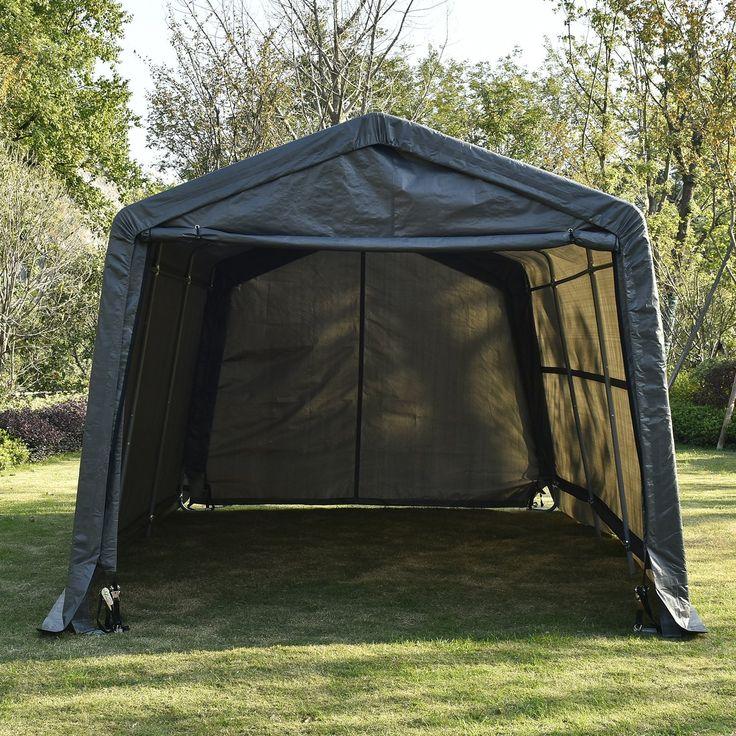 Canopy Carport Tent Garage Portable Outdoor Shelter Auto ...