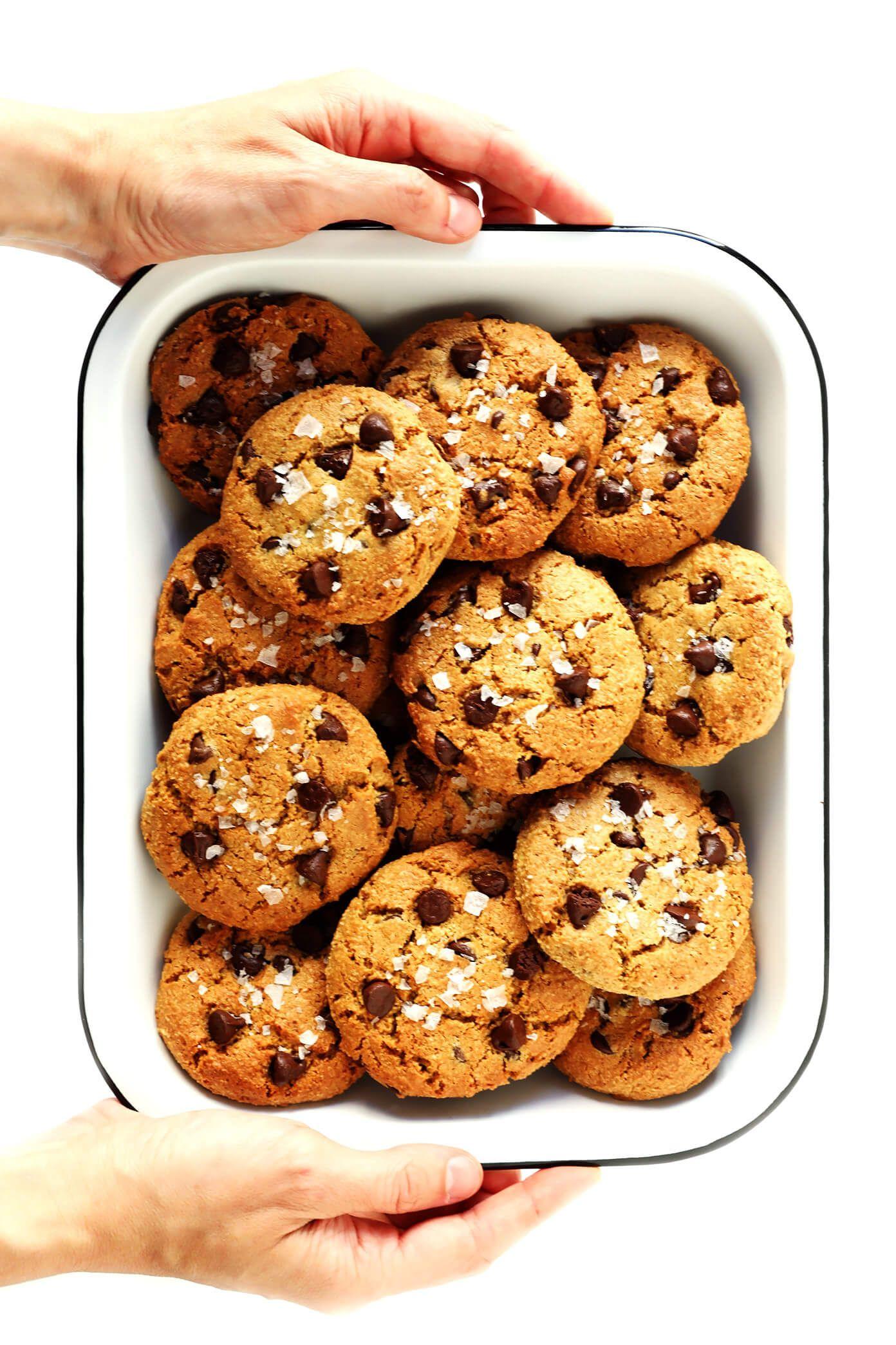 Flourless Chocolate Chip Cookies Recipe Flourless Chocolate