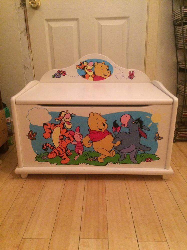 Disney Winnie The Pooh Toy Box Bench Tb 11986 Disney Disney Winnie The Pooh Winnie The Pooh Pooh