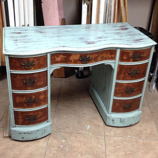 """Lovingly brought back to life with a little """"zen"""" #junkpaint #dirtywax #sugarfootchic #shabbychic #chalkpaint #superpretty"""