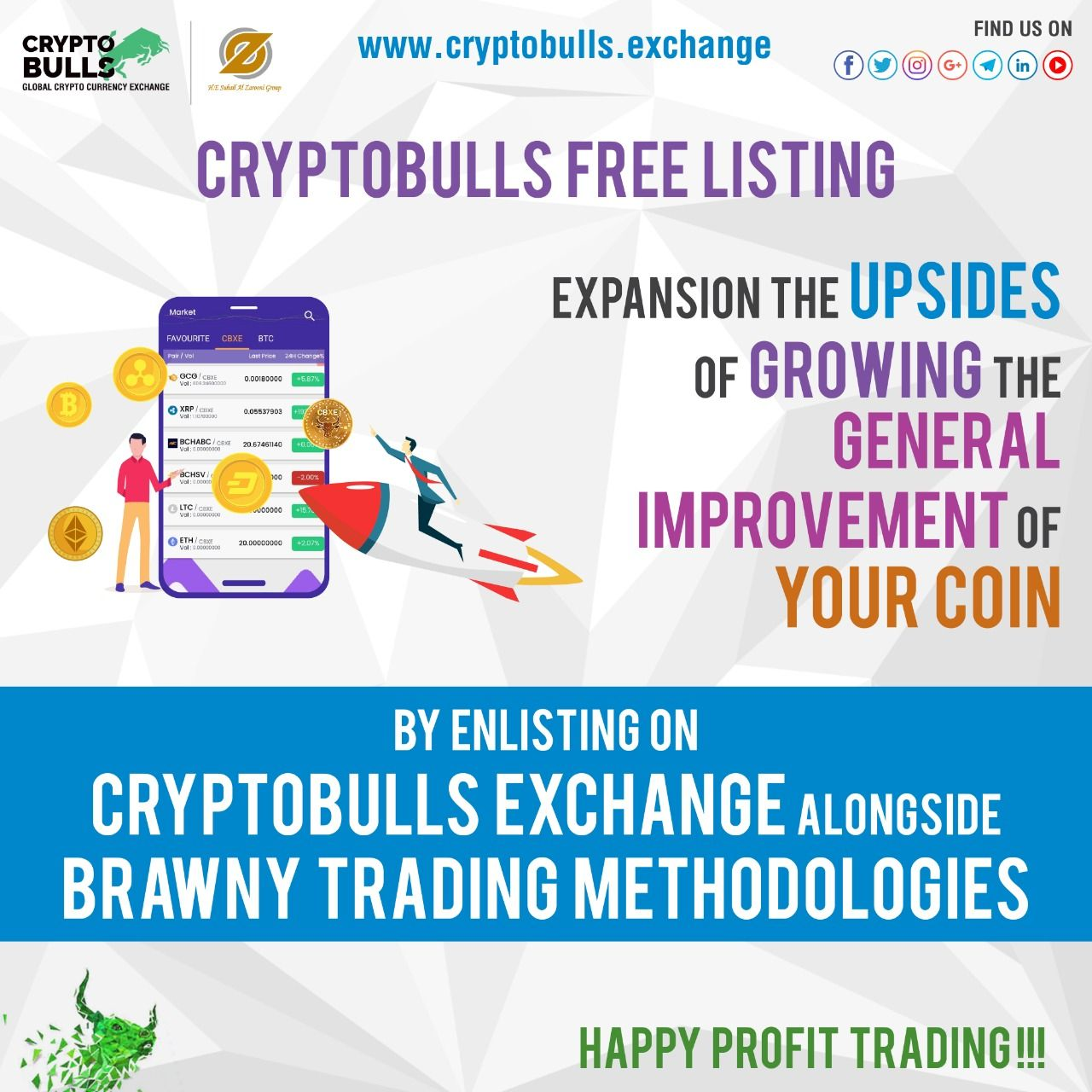 best exchange to be listed on for cryptocurrency