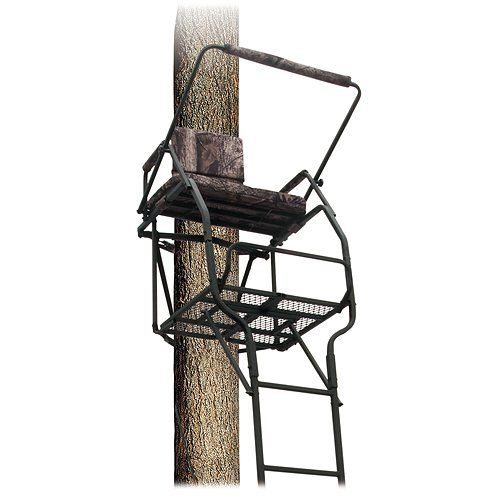Big Dog 22 Lancer Extreme Ladder Tree Stand Outdoorsmenstore Com Ladder Tree Stands Tree Stand Ladder Stands