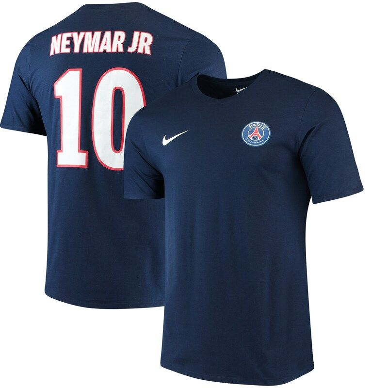 Neymar Name /& Number Youth T-Shirt Paris Saint Germain