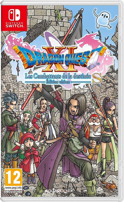 La Serie De Rpg Legendaire Est De Retour Avec La Version Ultime De Ce Jeu Salue Par La Critique Les Joueurs Pourront Emb Dragon Quest Les Combattants Nintendo