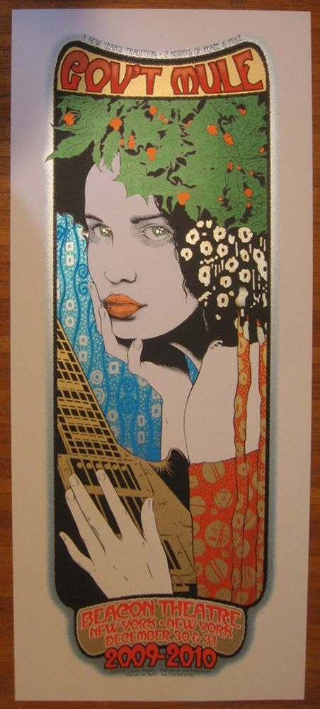 Chuck Sperry's Gov't Mule poster