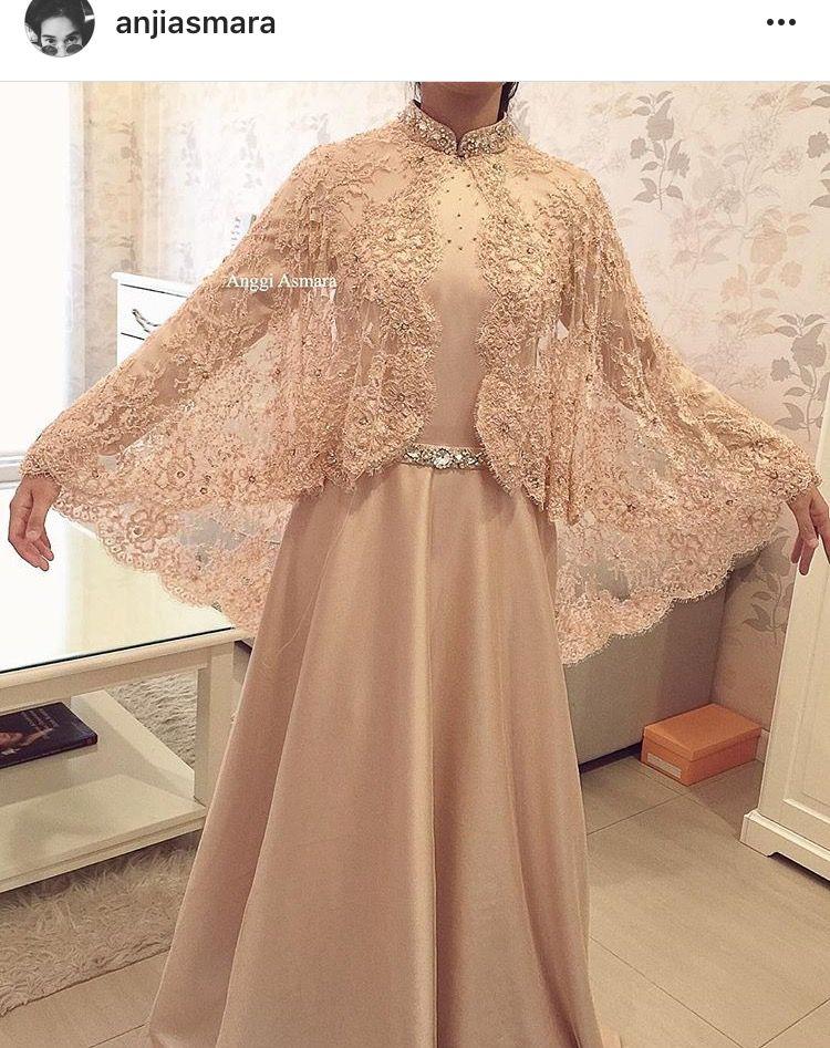 Gamis Rebah Gaun Perempuan Model Pakaian Pakaian Perkawinan