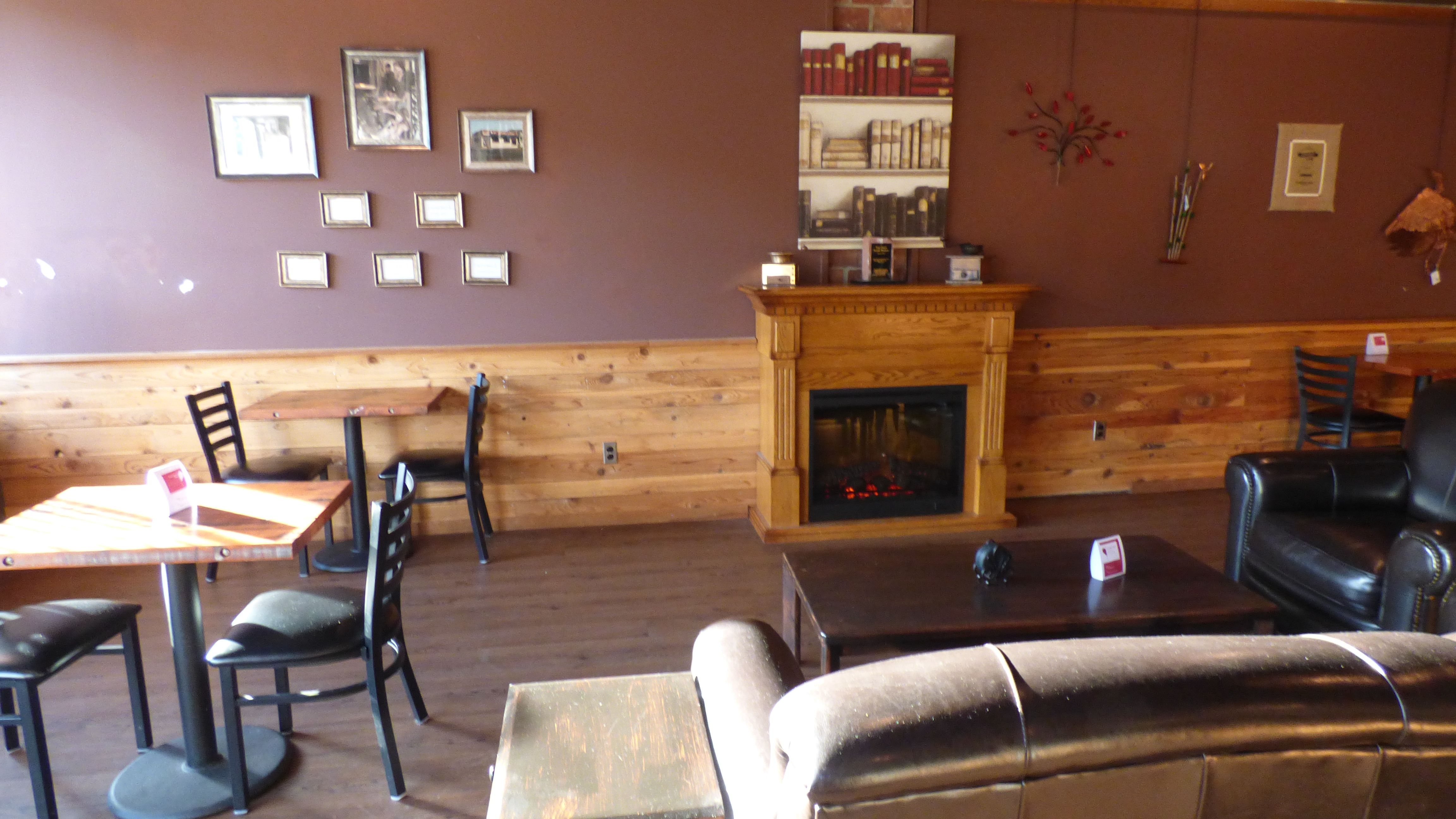 The Coffee Oasis Bremerton Cozy Fireplace And Seating Kitsap Charity Kitsapcares Bremerton Poulsbo Port Orchard Coffee Shop Business Home Cozy Fireplace