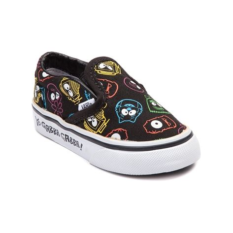 53650c0053f021 Shop for Toddler Vans Yo Gabba Gabba Slip-On Skate Shoe
