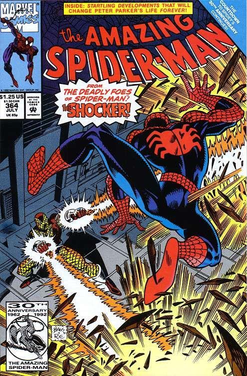 Amazing Spider-Man # 364 by Mark Bagley & Randy Emberlin