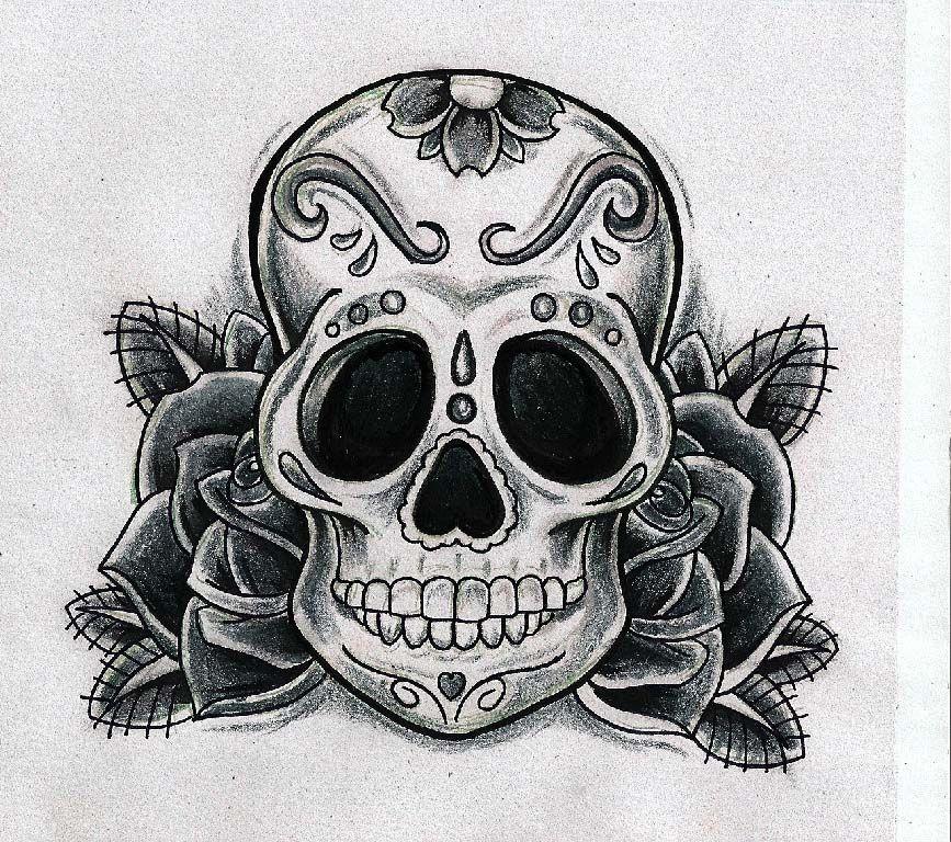 calaveras tattoo - Buscar con Google | Tattos Sutiles ...